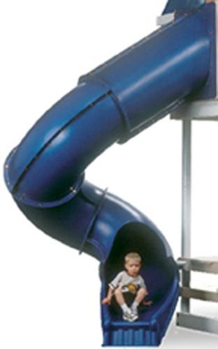 7 ft Turbo Tube Slide - Blue