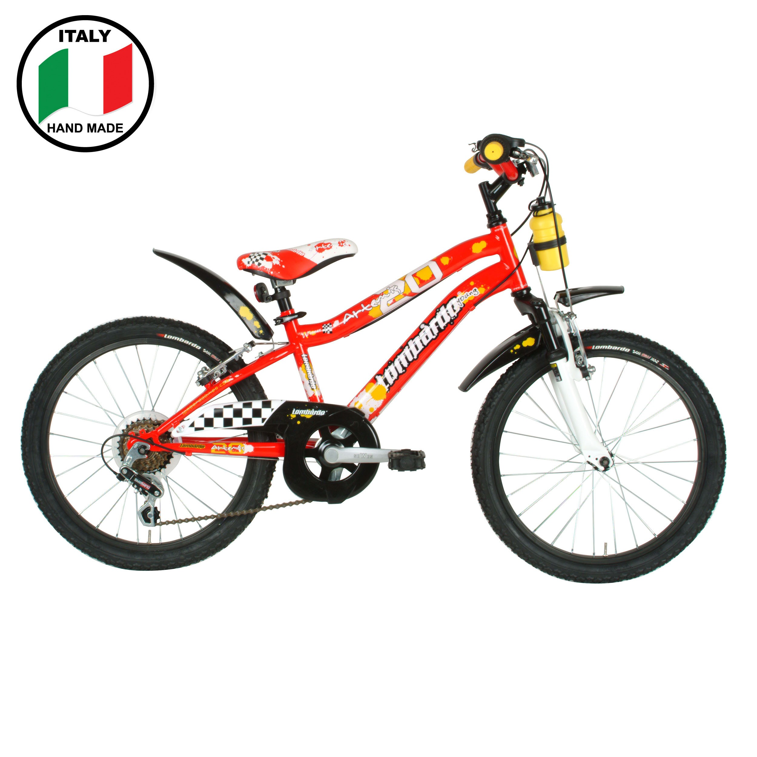 Lombardo Artemis 20 inch Red and White