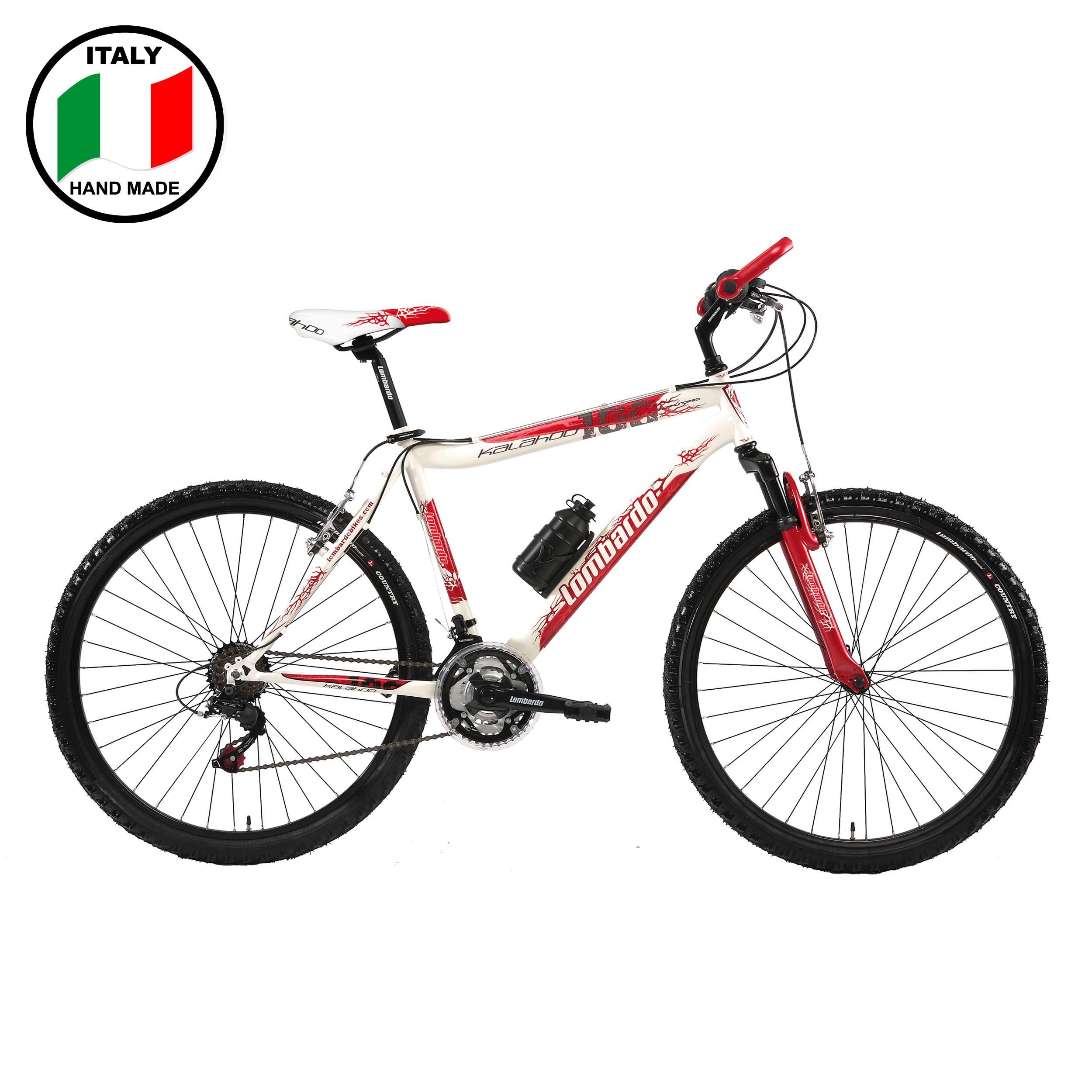 Lombardo Kalahoo  26 inch Men's Bike- Red and White