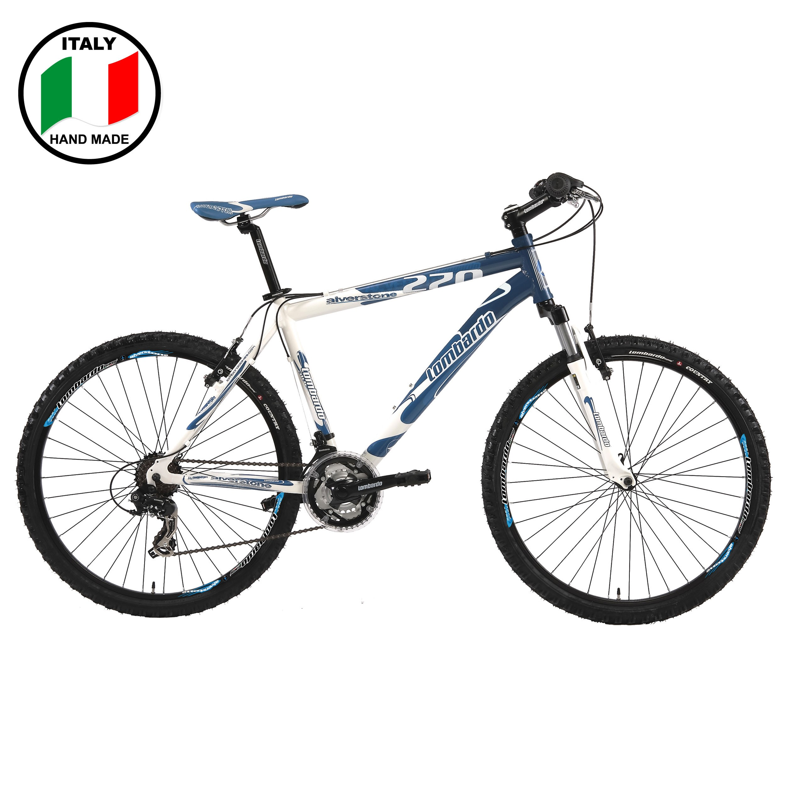 Lombardo Alverstone 350 26 inch Bike- Blue and White