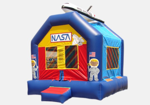 Space Bouncer - Commercial Inflatable Bounce House