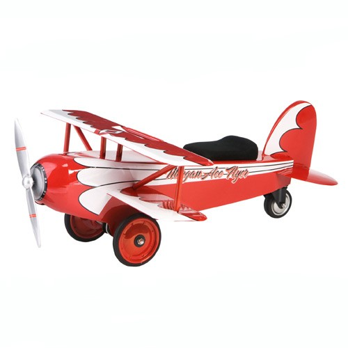Morgan Cycle Ace Flyer BiPlane Foot to Floor