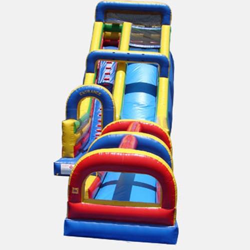 24' Single Lane Slide with Slip and Slide- Commercial Grade Slide