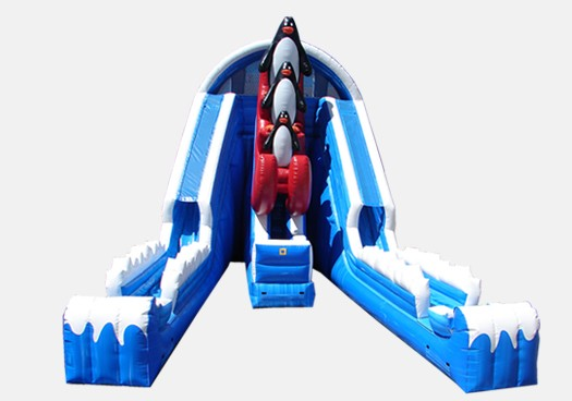 Raging Rapids 22' Peguin Wet and Dry Slide - Commercial Grade Inflatable