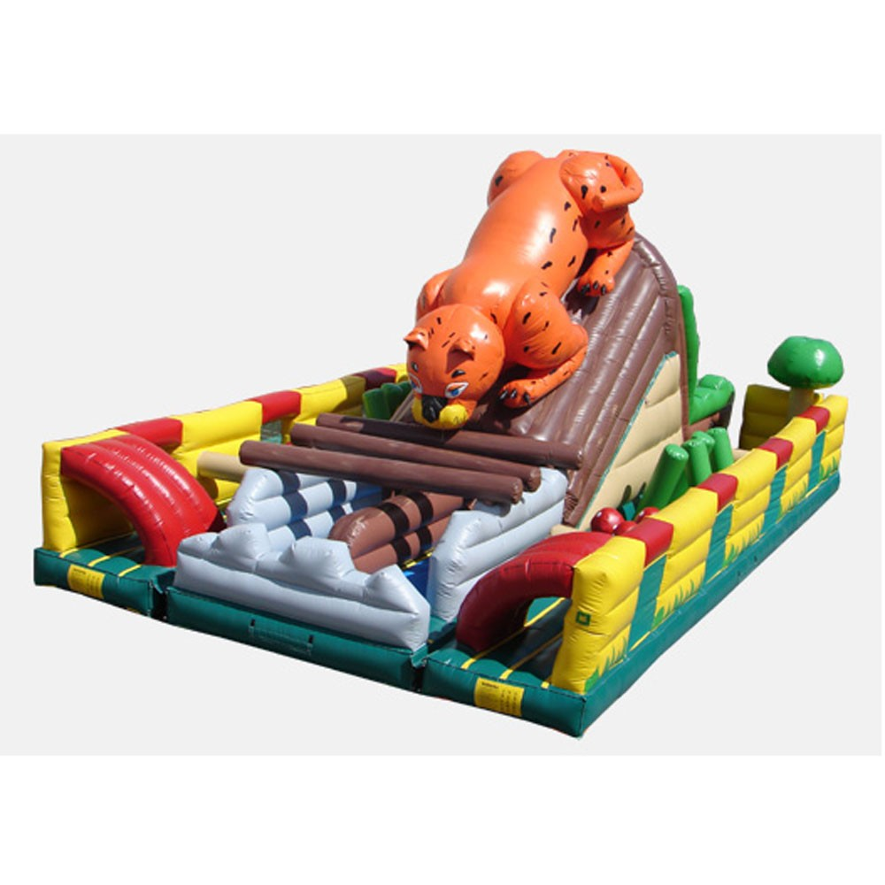 The Leopard Challenge II - Commercial Grade Inflatable (3 Pieces)