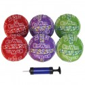 6 Pack of 6 inch Neoprene Balls