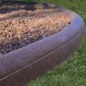 Flexible 8ft Rubber Residential Mulch Borders