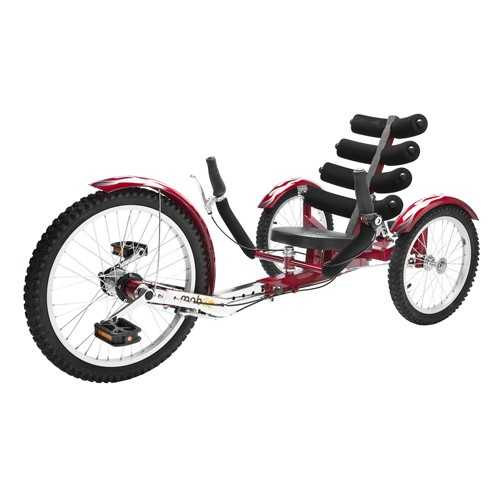Mobo Shift – The World's First Reversible Three Wheeled Cruiser - Red