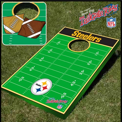 Tailgate Toss Nfl Licensed Football Field Tailgate Game