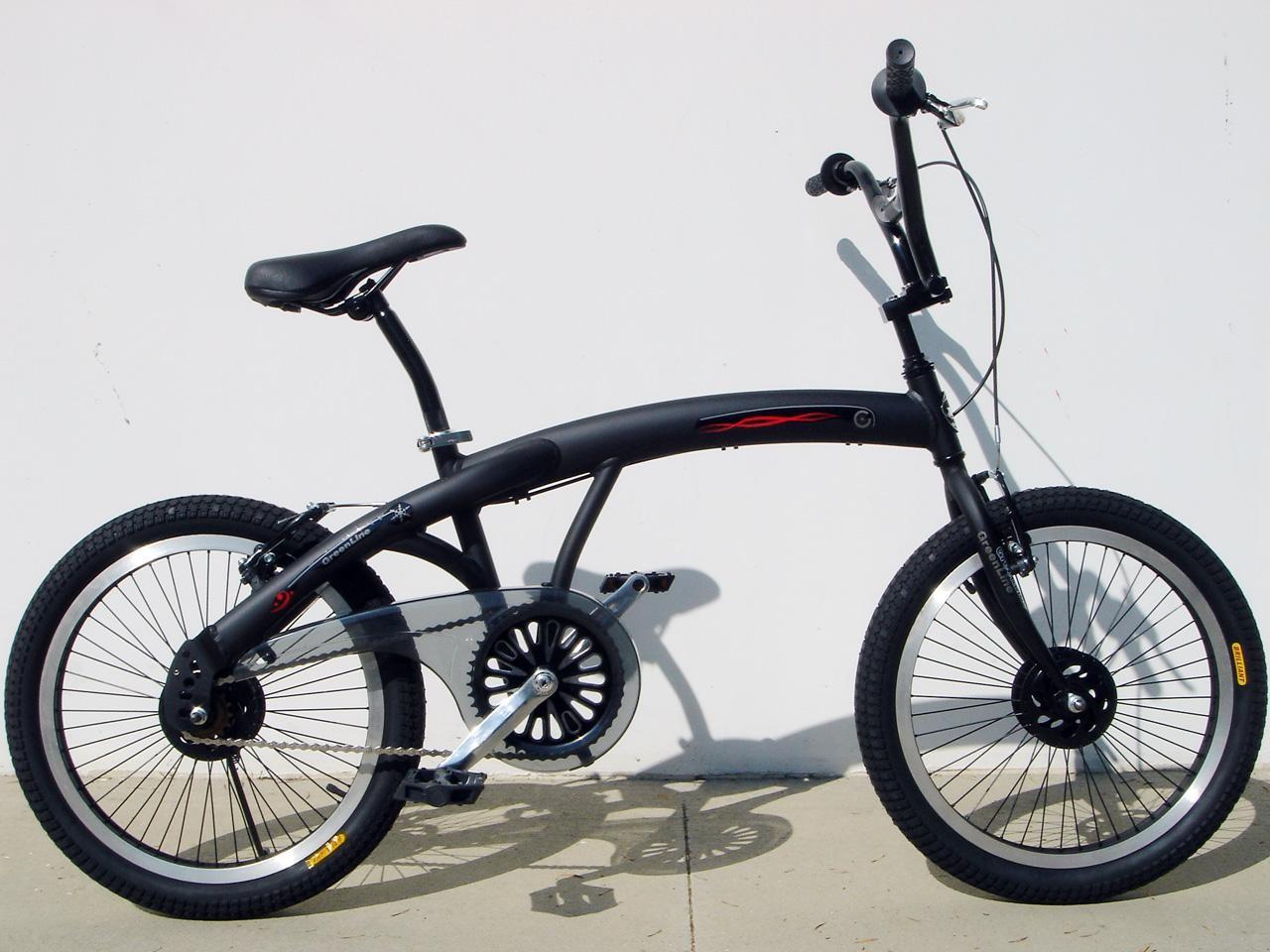 BMX Black Bike