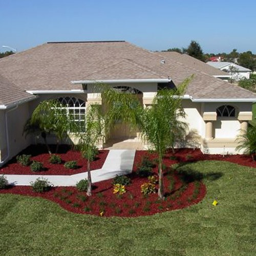 YardWise Landscape Recycled Rubber Mulch Cedar Red
