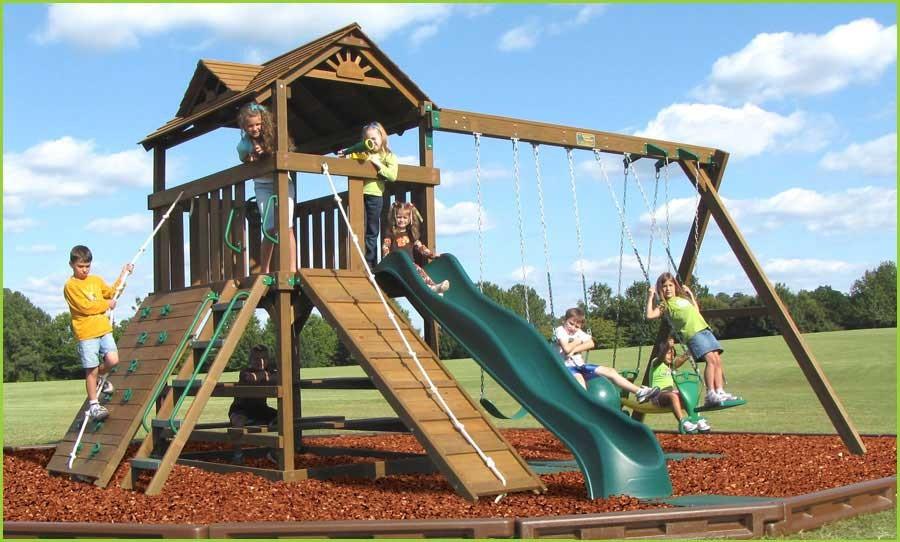 Creative Playthings Lexington Package #2 Swing Set