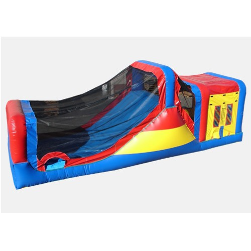 12' Happy Slide and Jump - Commercial Wet & Dry Combo Bouncer