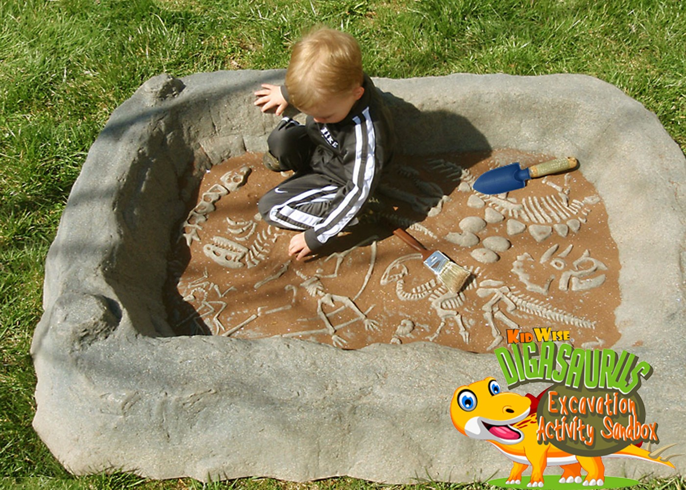 Digasaurus Activity Sandbox - Dinosaur Excavation Activity - Pre-Order for 4/15/19 Shipping