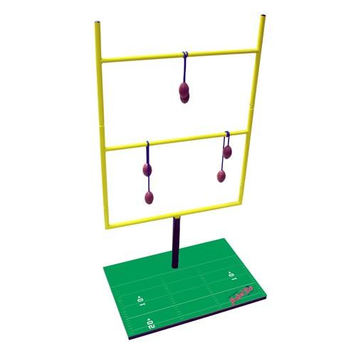 Generic Football Toss - Tailgate Toss Game