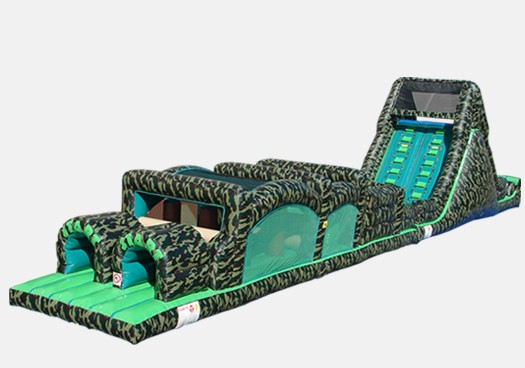 Camouflage Obstacle Course 3 - Commercial Inflatable Obstacle Course