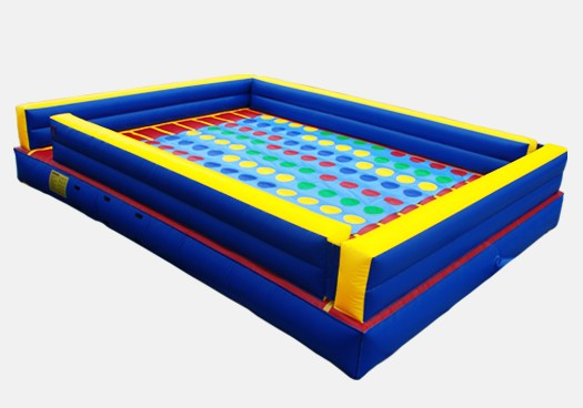 Joust & Twister Combo- Commercial Inflatable