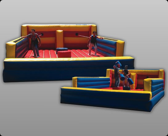 Bungee & Joust Combo - Commercial Inflatable Game