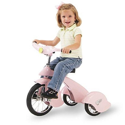 Morgan Cycle Retro Style Pink Pegasus Steel Tricycle