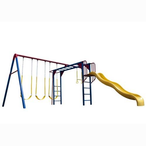 Lifetime Monkey Bar Adventure Swing Set (Primary Colors)