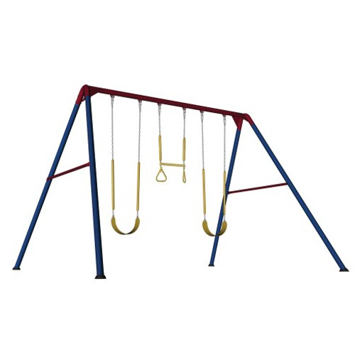 Lifetime 10-Foot Swing Set (Primary Colors)