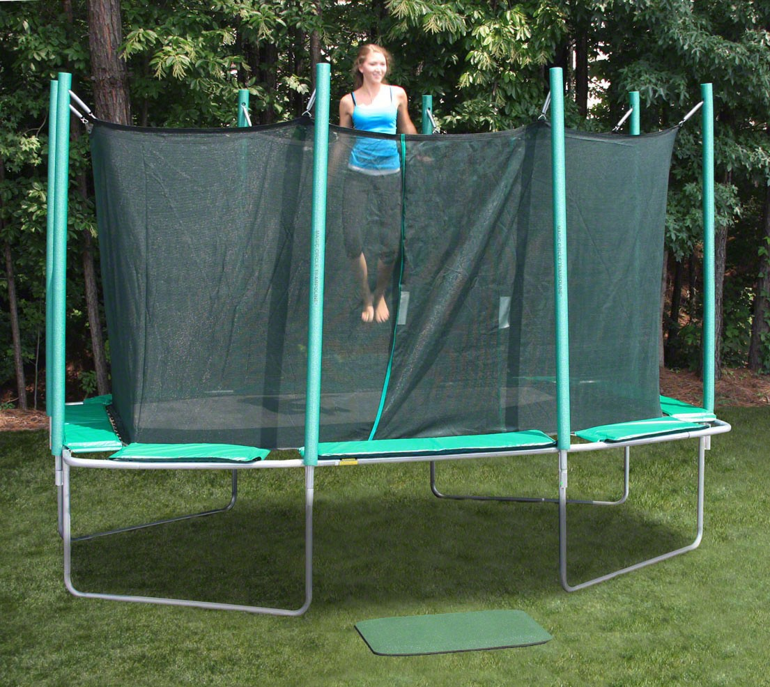 Magic Circle Rectangular 9x14 Trampoline-1