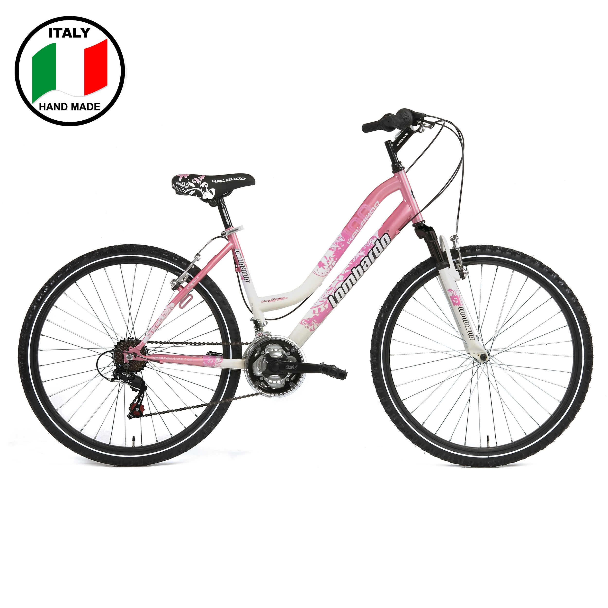 Lombardo Kalahoo  26 inch Bike- Pink and White