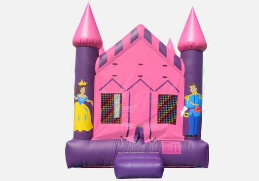 Princess Castle Bouncer - Commercial Inflatable Bounce House