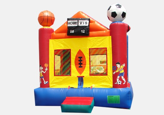 Sports Arena Bouncer - Commercial Inflatable Bounce House