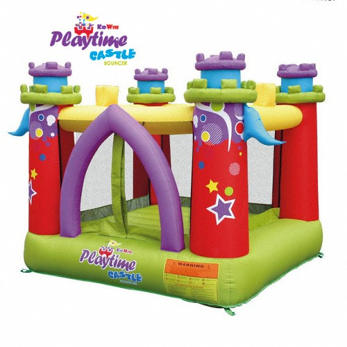 USED Playtime Castle Bouncer - Inflatable Bounce House