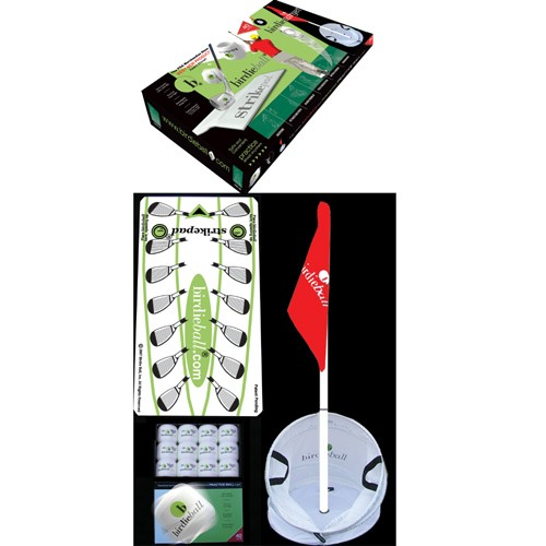 DELUXE Birdie Ball Super Set - Complete Golf Target Kit