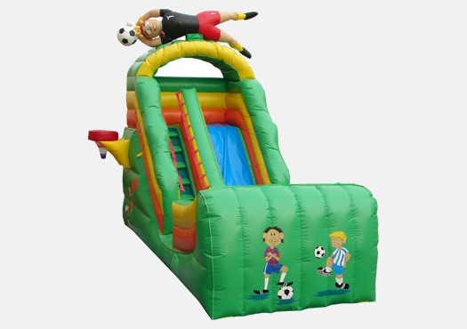 17' Sports Wet & Dry Slide - Commercial Grade Inflatable
