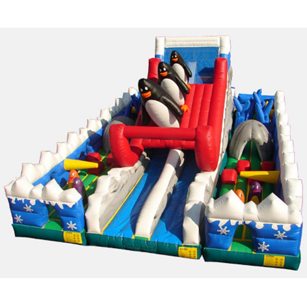 The Penguins' Course - Commercial Grade Inflatable (3 Pieces)