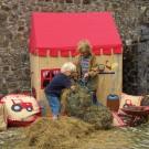 Win Green Playhouse - Barn Themed