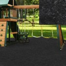 Black Playground Rubber Mulch