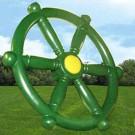 Ships Wheel - Play Set Accessory - Green