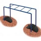 UltraPlay Freestanding Junior Horizontal Ladder