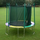 10' Round Trampoline with Safety Cage