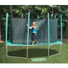 9' x 14' Rectagon Magic Circle Trampoline with Cage