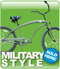 Hot deals on Beach Cruiser Bikes!